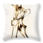 Abstraction 2911 Throw Pillow