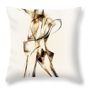 Abstraction 2913 Throw Pillow