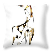 Abstraction 2916 Throw Pillow