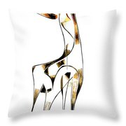 Abstraction 2918 Throw Pillow