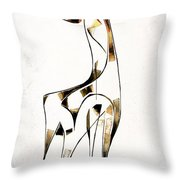 Abstraction 2920 Throw Pillow
