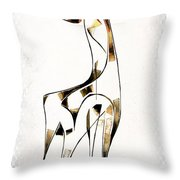 Abstraction 2923 Throw Pillow