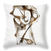 Abstraction 2924 Throw Pillow