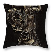 Abstraction 2969 Throw Pillow