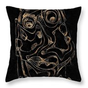 Abstraction 2978 Throw Pillow