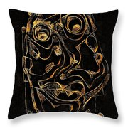 Abstraction 2979 Throw Pillow