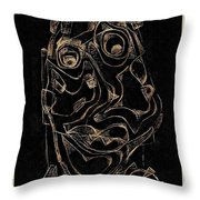 Abstraction 2982 Throw Pillow