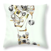 Abstraction 2988 Throw Pillow