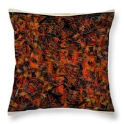 Abstraction 3047 Throw Pillow