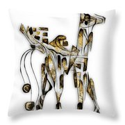 Abstraction 3090 Throw Pillow