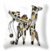Abstraction 3092 Throw Pillow