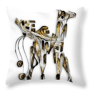 Abstraction 3093 Throw Pillow