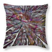 Abstraction 3096 Throw Pillow