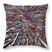 Abstraction 3097 Throw Pillow