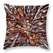 Abstraction 3098 Throw Pillow