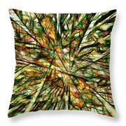 Abstraction 3099 Throw Pillow