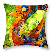 Abstraction 3198 Throw Pillow