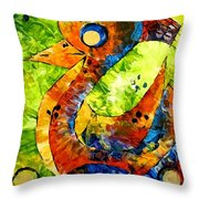 Abstraction 3199 Throw Pillow