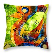 Abstraction 3200 Throw Pillow