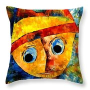Abstraction 3201 Throw Pillow