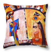 Abstraction 3217 Throw Pillow