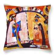 Abstraction 3219 Throw Pillow