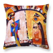 Abstraction 3220 Throw Pillow