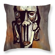 Abstraction 3294 Throw Pillow
