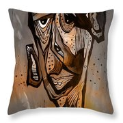 Abstraction 3297 Throw Pillow