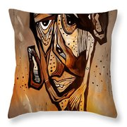 Abstraction 3299 Throw Pillow