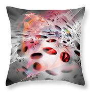 Abstraction 3304 Throw Pillow
