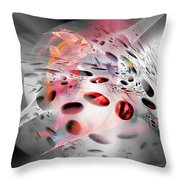 Abstraction 3306 Throw Pillow