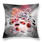 Abstraction 3307 Throw Pillow