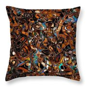 Abstraction 3374 Throw Pillow