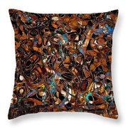 Abstraction 3375 Throw Pillow