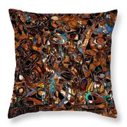Abstraction 3376 Throw Pillow
