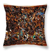 Abstraction 3377 Throw Pillow