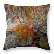 Abstraction 3414 Throw Pillow