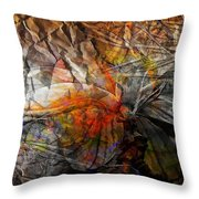 Abstraction 3415 Throw Pillow