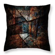 Abstraction 3421 Throw Pillow