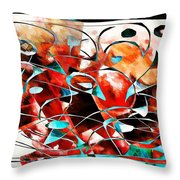 Abstraction 3424 Throw Pillow