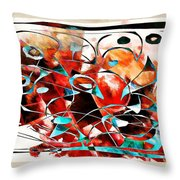Abstraction 3426 Throw Pillow