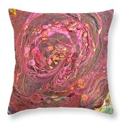 Abstraction #35  Throw Pillow