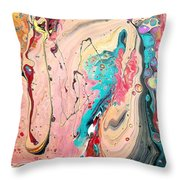 Abstraction #36  Throw Pillow