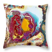 Abstraction #37  Throw Pillow