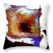 Abstraction #39 Throw Pillow