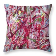 Abstraction 47 Throw Pillow