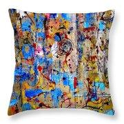 Abstraction 763 - Marucii Throw Pillow
