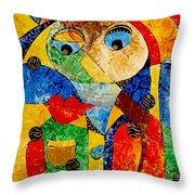 Abstraction 770 - Marucii Throw Pillow
