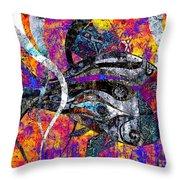 Abstraction 788 - Marucii Throw Pillow